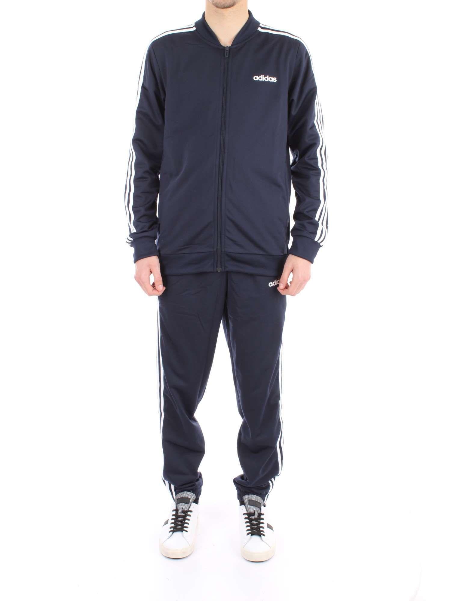 paracaídas legumbres objetivo  Adidas Originals Blue Polyester Jumpsuit | ModeSens