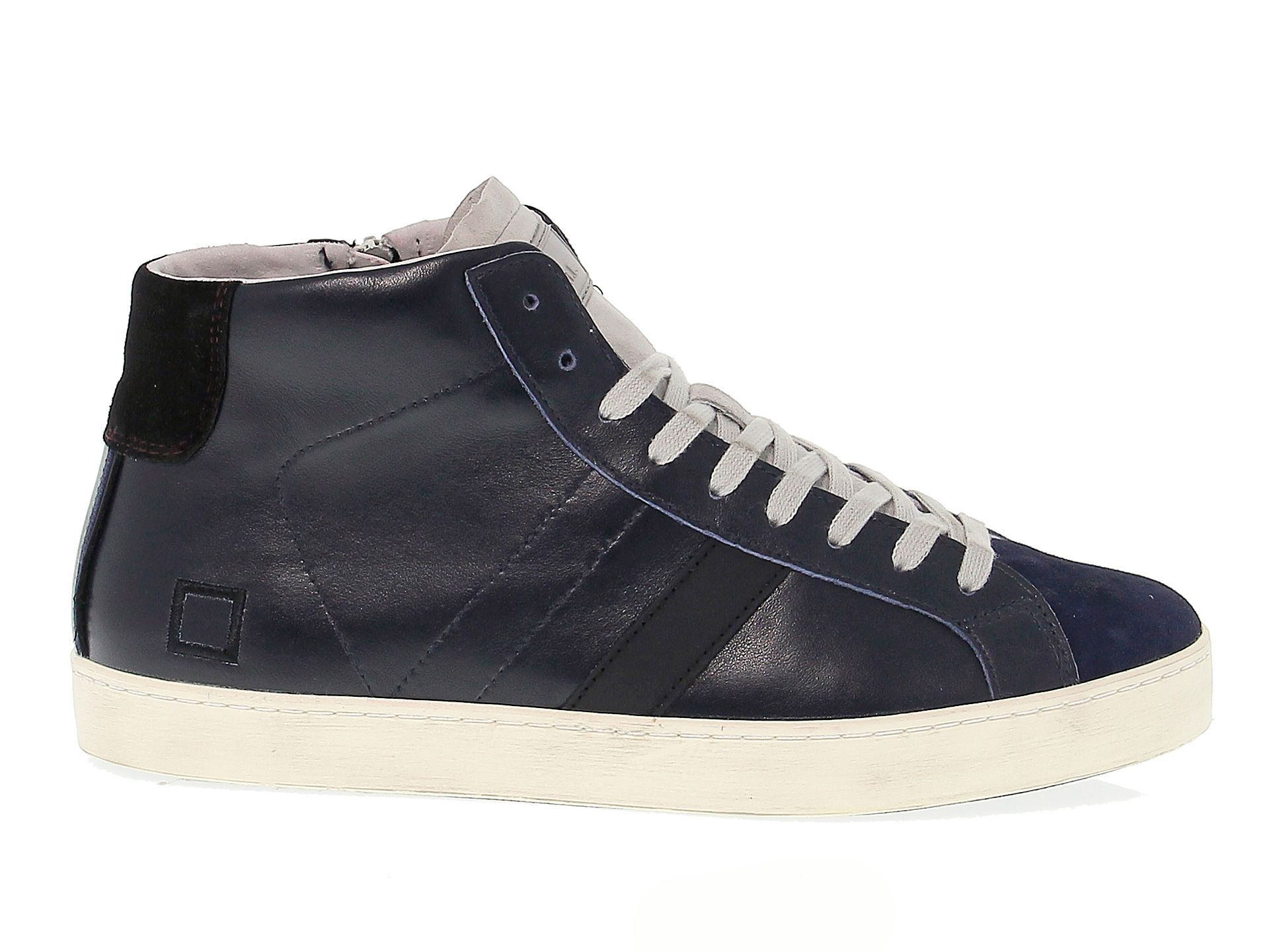 D.a.t.e. Men's Blue Other Materials Sneakers