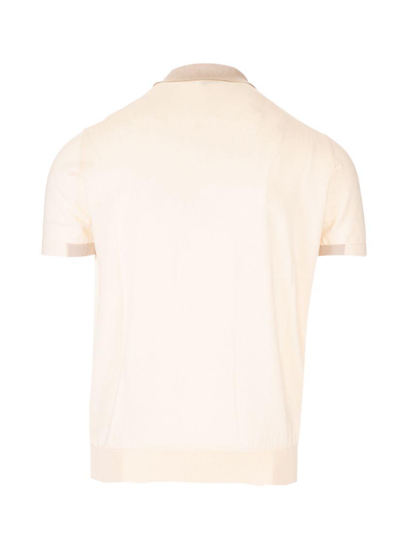 ETRO Shirts ETRO MEN'S LIGHT BLUE OTHER MATERIALS POLO SHIRT