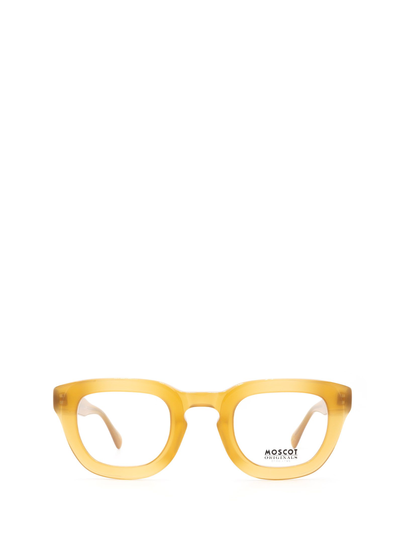 Moscot MOSCOT WOMEN'S YELLOW METAL GLASSES