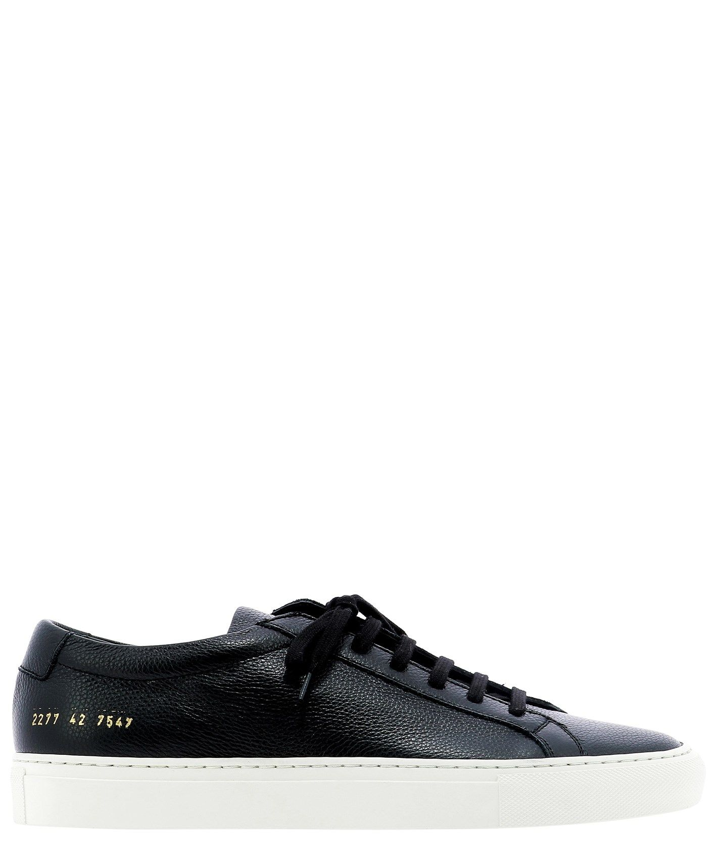 Common Projects COMMON PROJECTS MEN'S BLACK LEATHER SNEAKERS