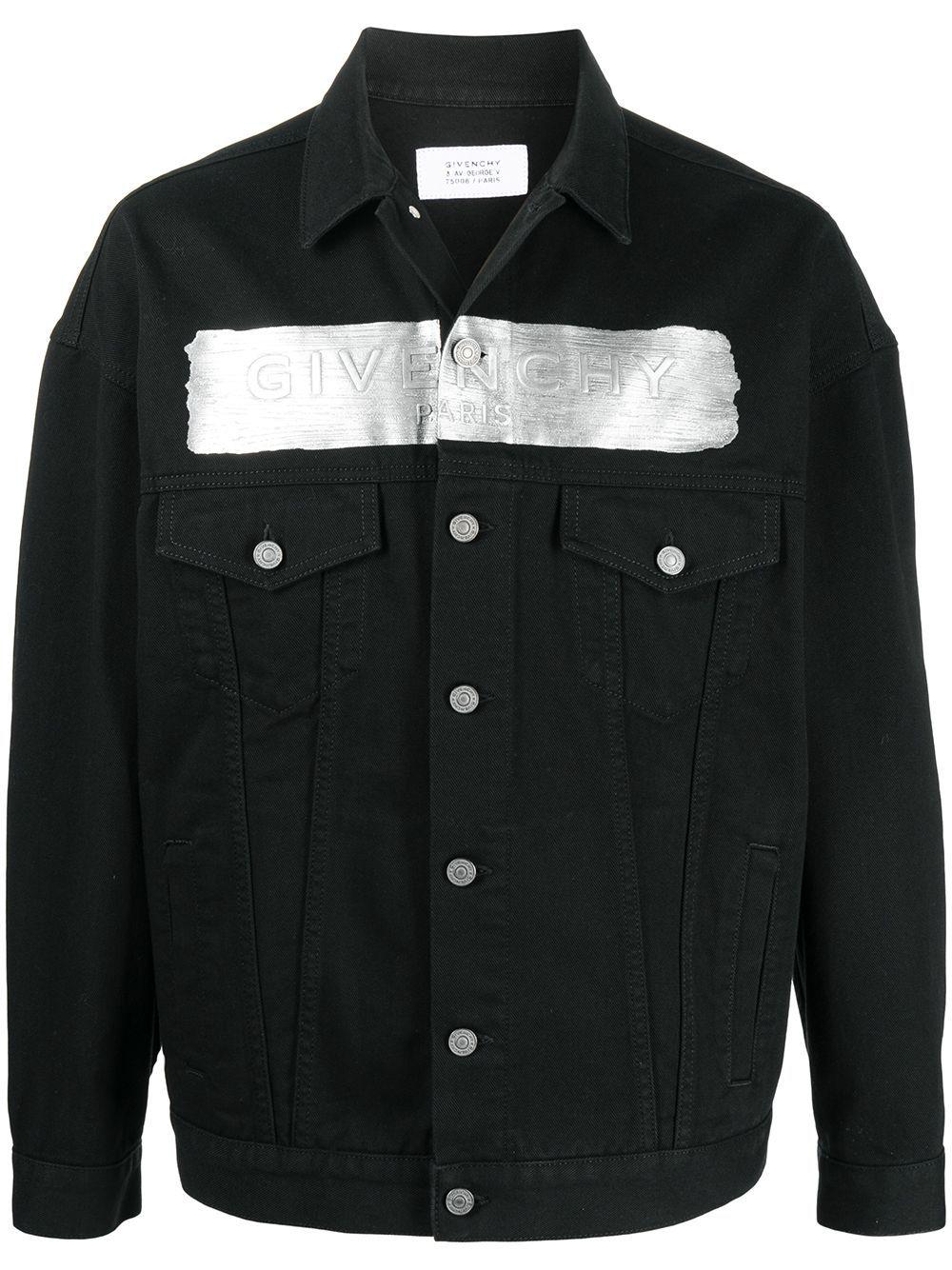 Givenchy GIVENCHY MEN'S BLACK COTTON JACKET