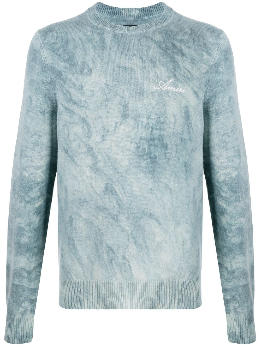 Amiri AMIRI MEN'S GREY CASHMERE SWEATER
