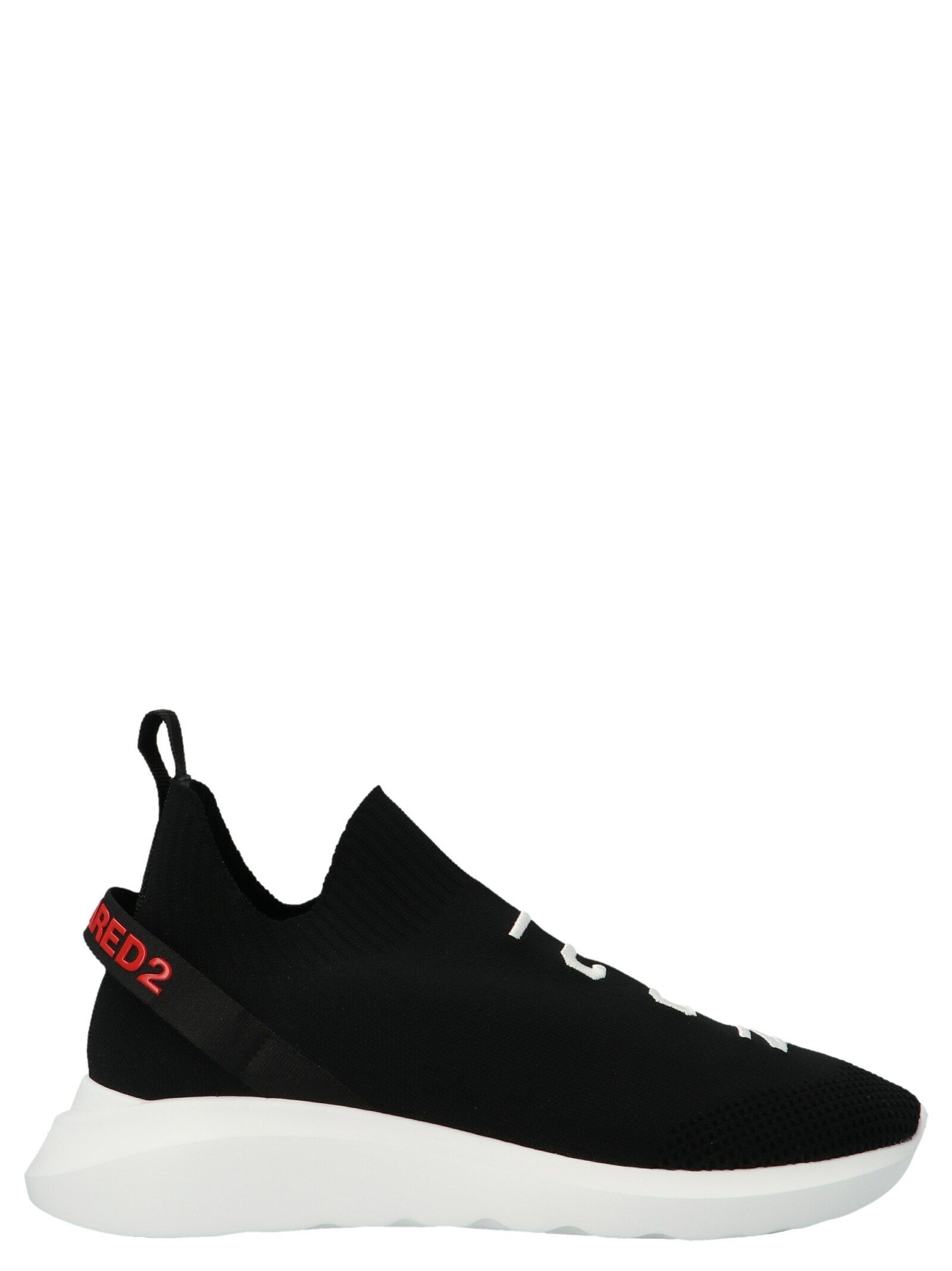 Dsquared2 Sneakers DSQUARED2 MEN'S BLACK FABRIC SNEAKERS