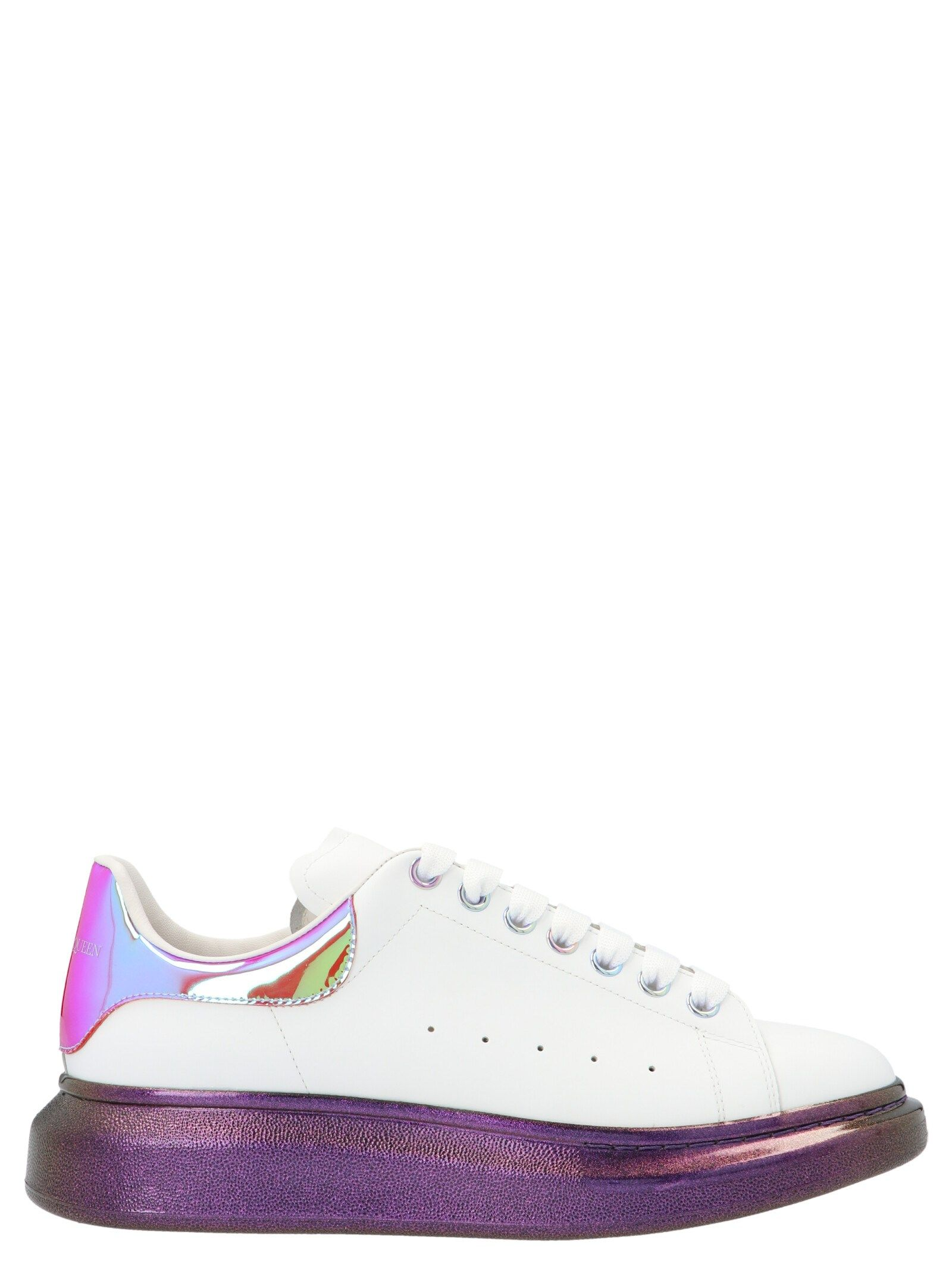ALEXANDER MCQUEEN ALEXANDER MCQUEEN MEN'S PURPLE OTHER MATERIALS SNEAKERS