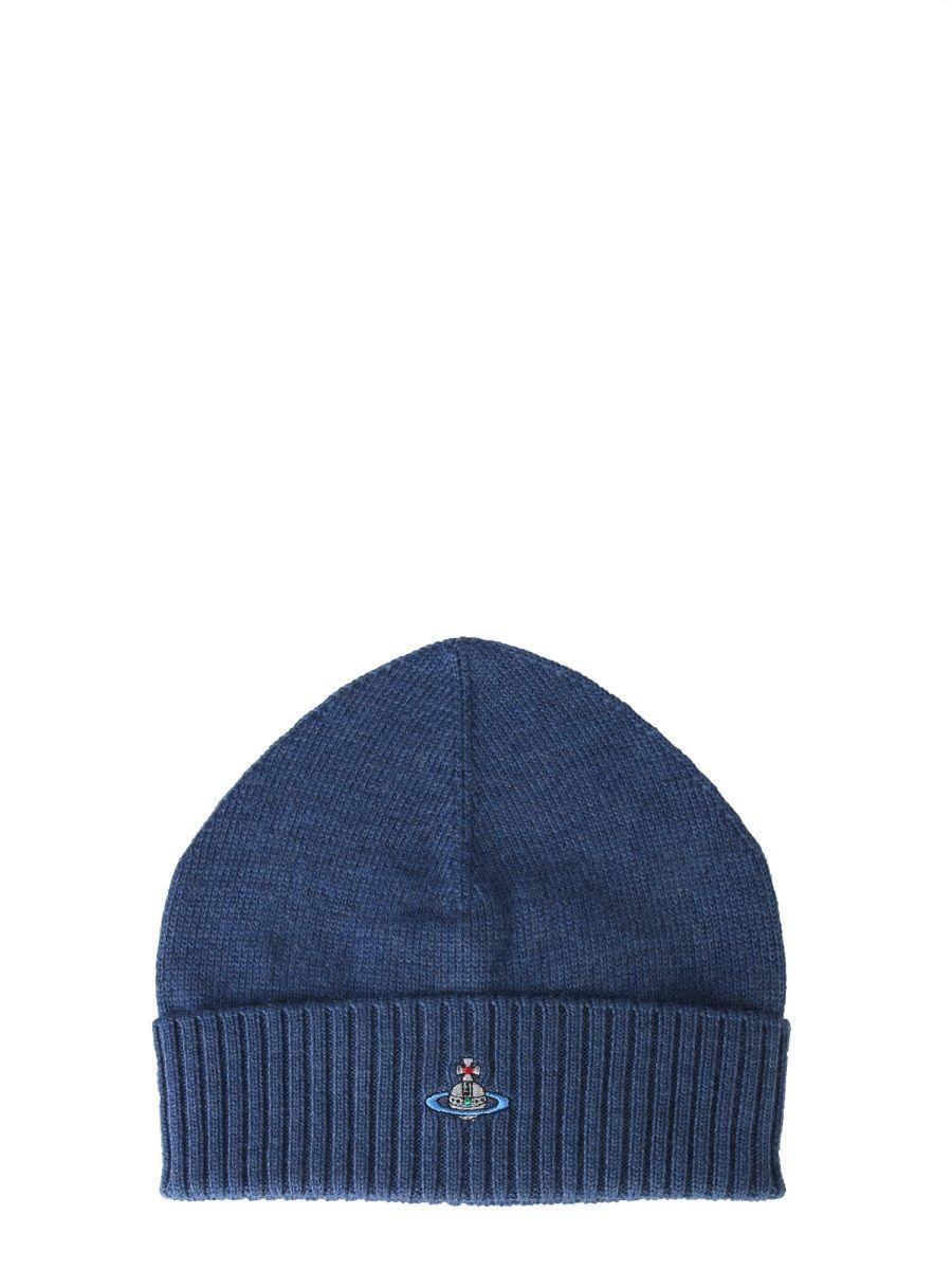 Vivienne Westwood Hats BLUE WOOL HAT