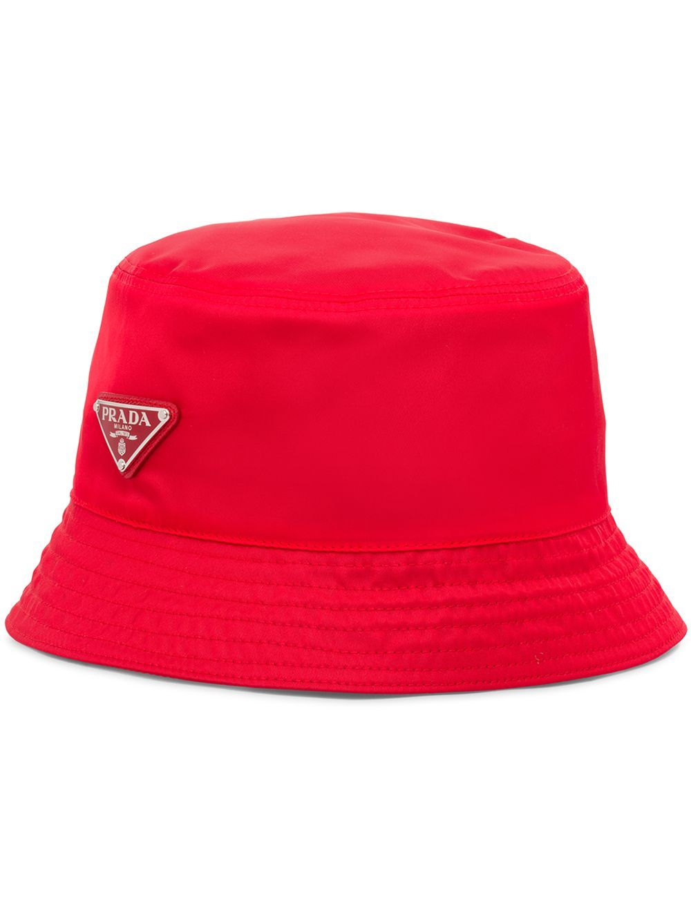 Prada PRADA MEN'S RED POLYESTER HAT