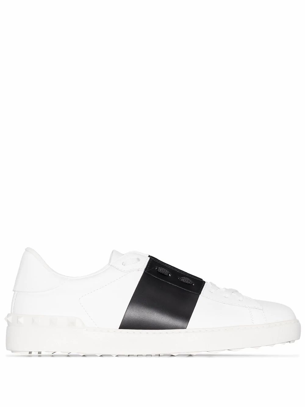 Valentino VALENTINO GARAVANI MEN'S WHITE LEATHER SNEAKERS