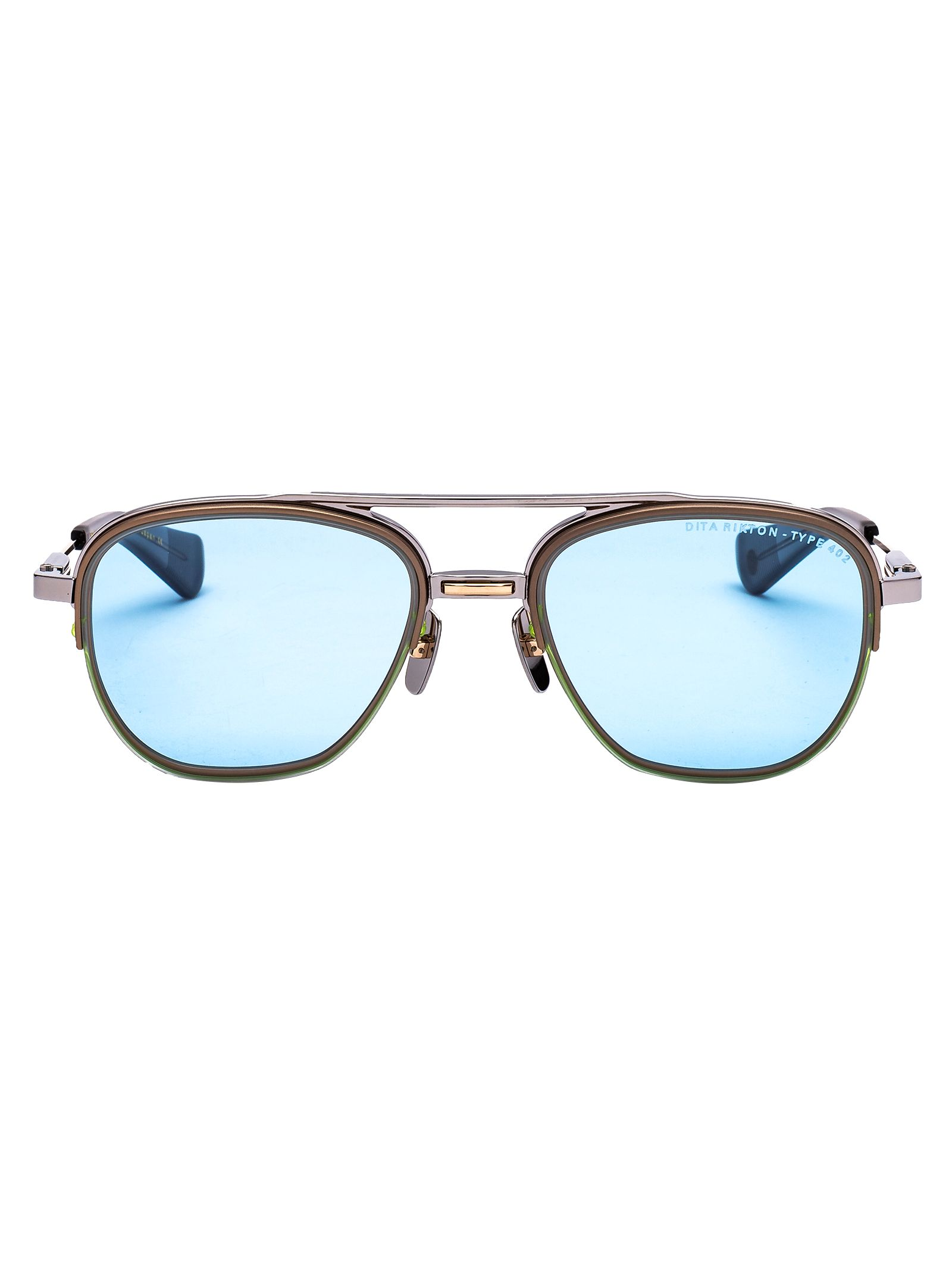 Dita Men's Grey Metal Sunglasses