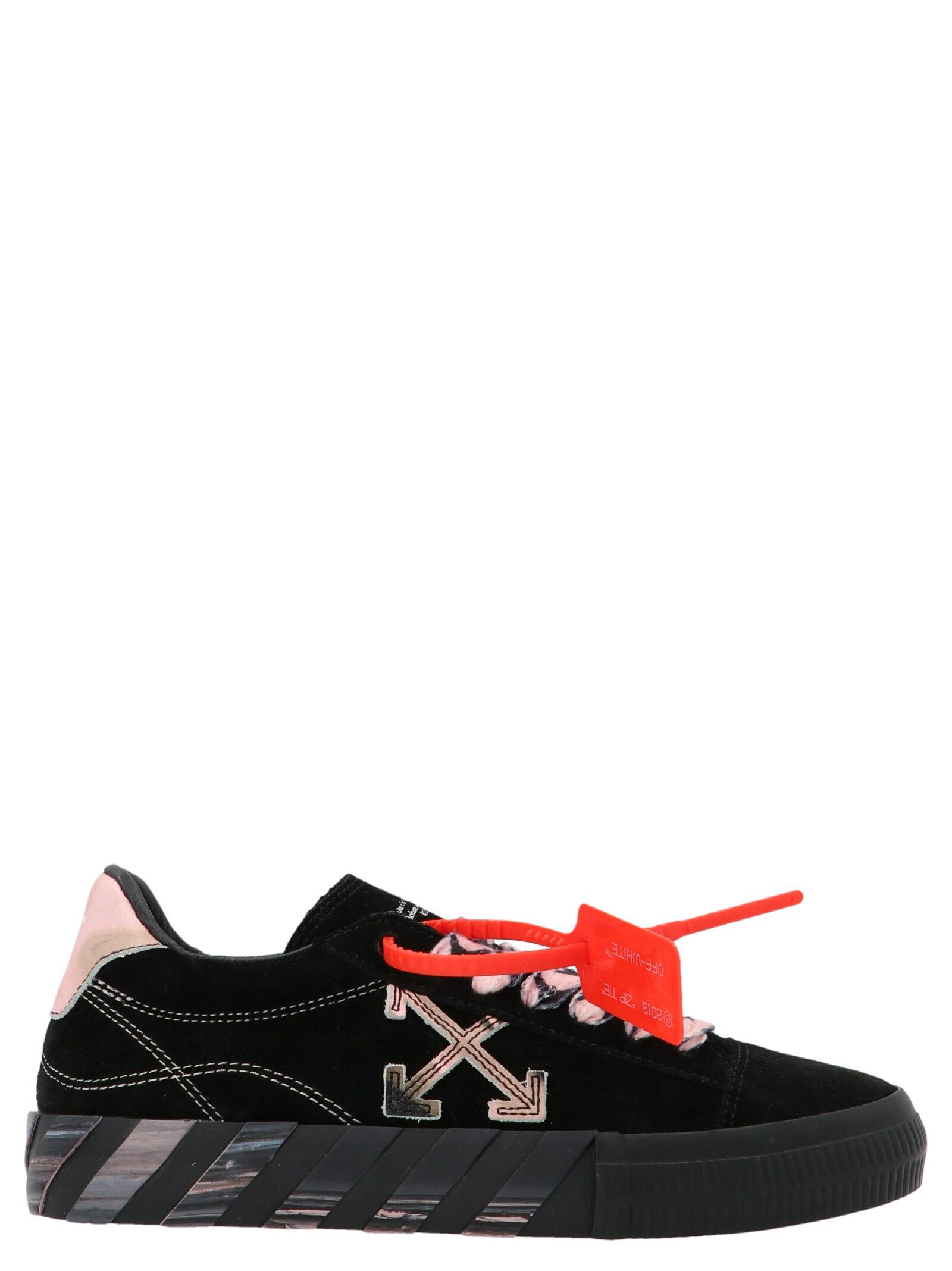 Off-White OFF-WHITE WOMEN'S BLACK OTHER MATERIALS SNEAKERS