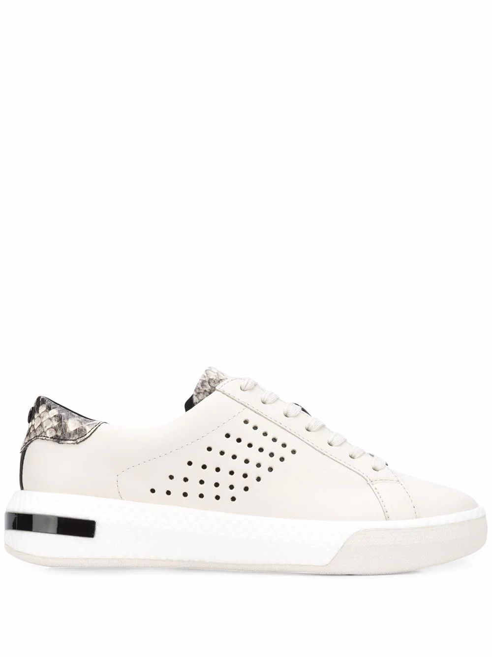 Michael Kors MICHAEL KORS WOMEN'S WHITE LEATHER SNEAKERS