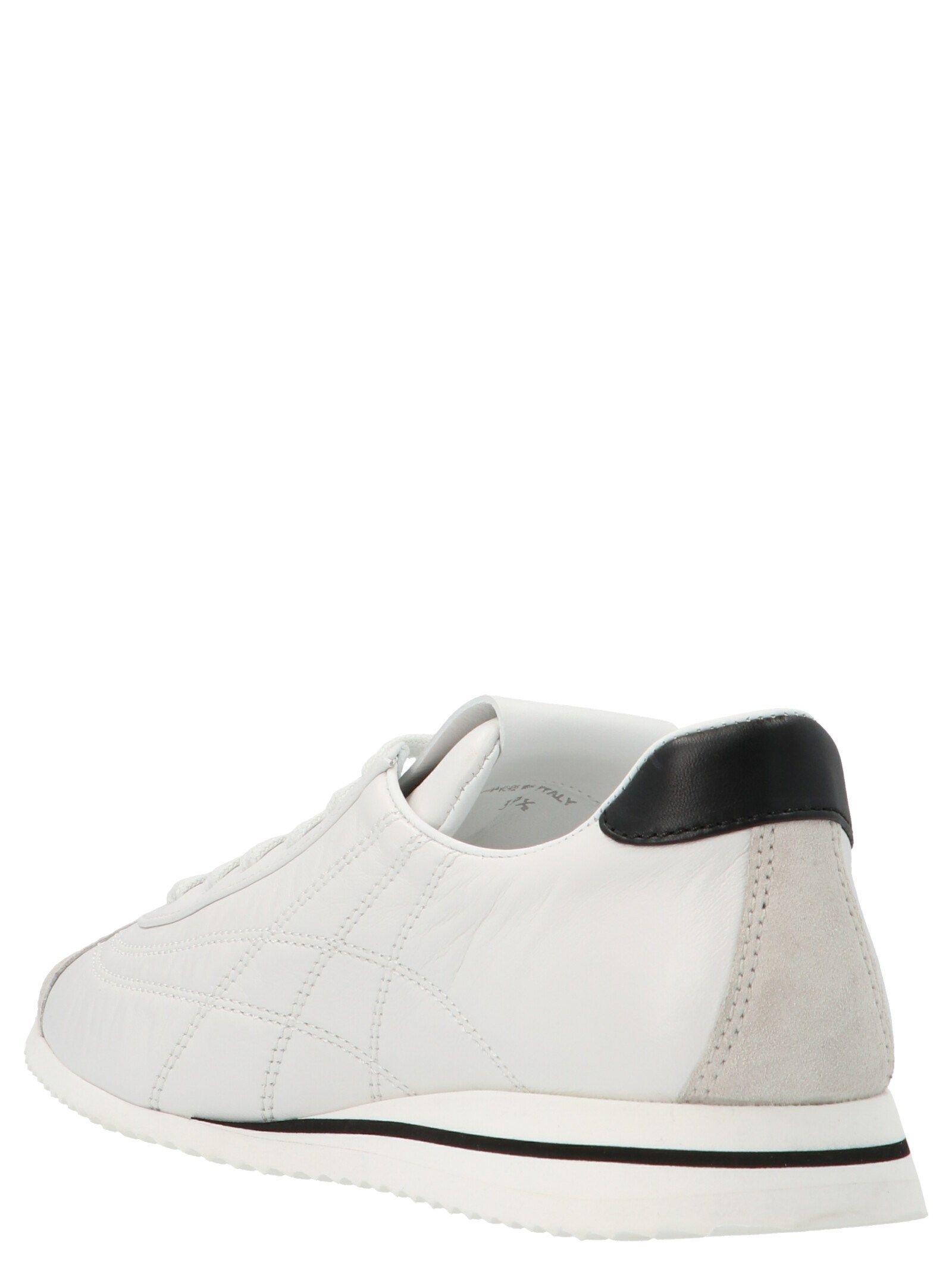 MIU MIU Leathers MIU MIU WOMEN'S WHITE OTHER MATERIALS SNEAKERS