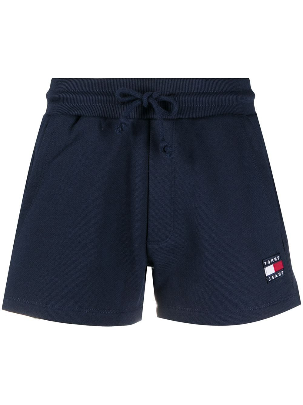 Tommy Hilfiger TOMMY HILFIGER WOMEN'S BLUE COTTON SHORTS
