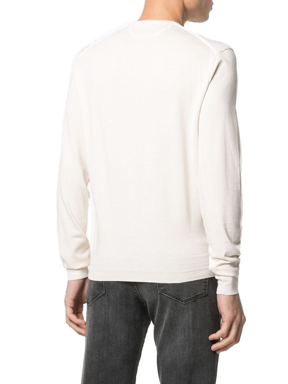 TOM FORD Cottons TOM FORD MEN'S BEIGE COTTON T-SHIRT