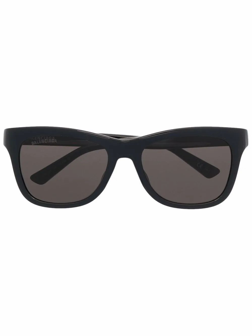 Balenciaga Men's Black Acetate Sunglasses