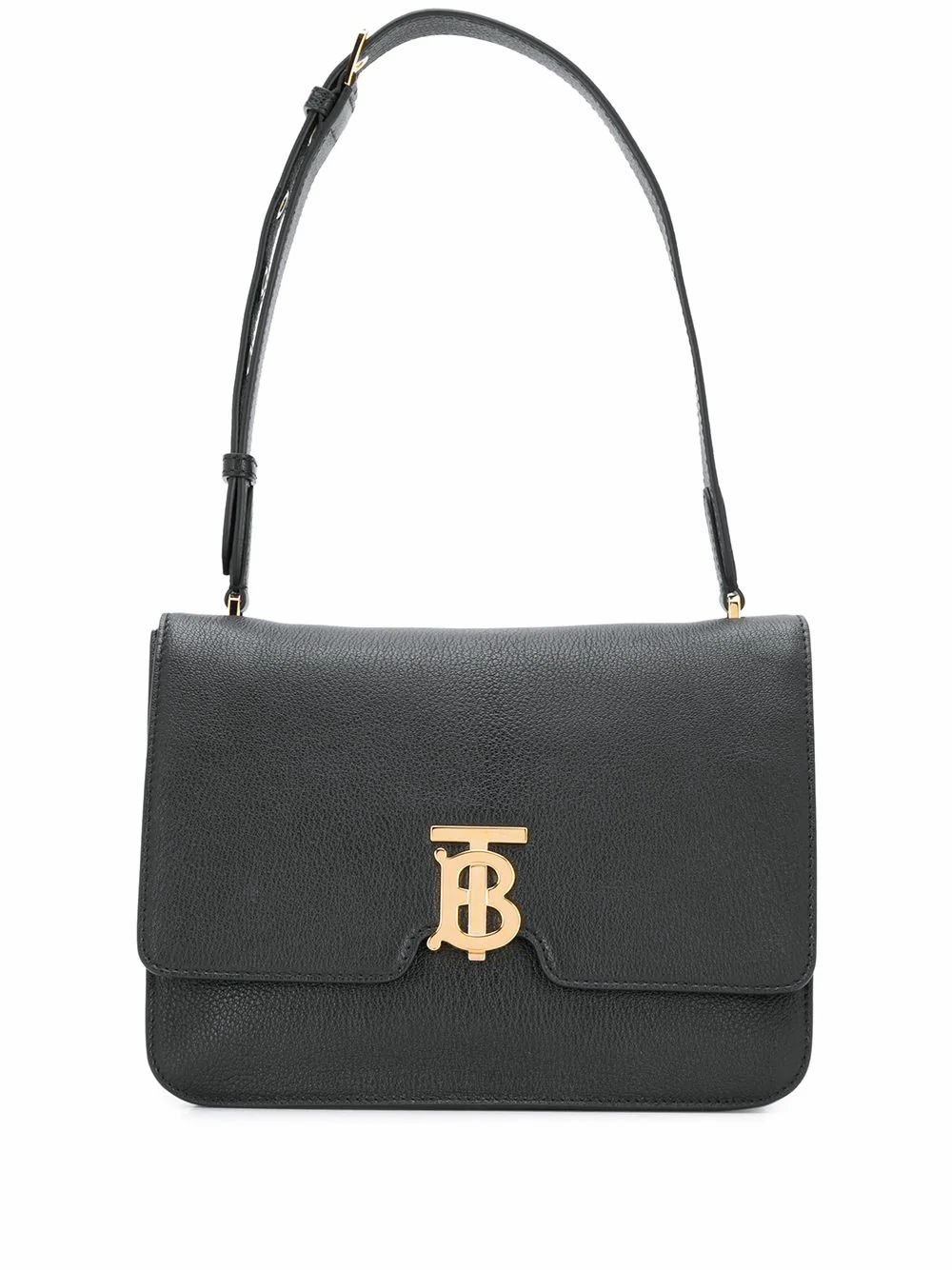 Burberry Leathers BURBERRY WOMEN'S BLACK LEATHER SHOULDER BAG
