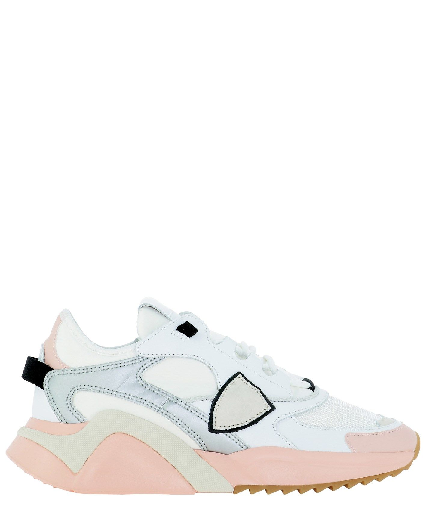 Philippe Model PHILIPPE MODEL WOMEN'S WHITE OTHER MATERIALS SNEAKERS