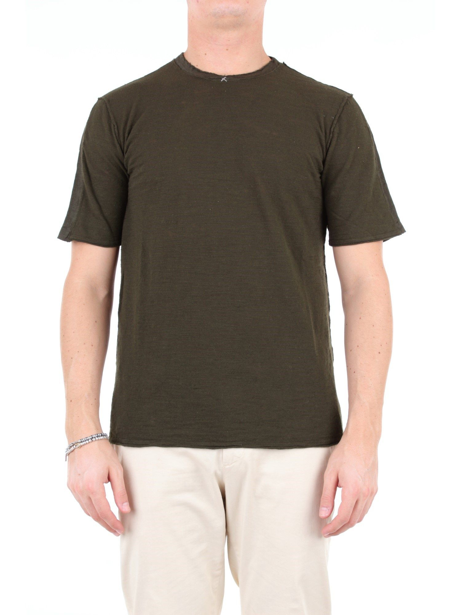 Transit GREEN COTTON T-SHIRT