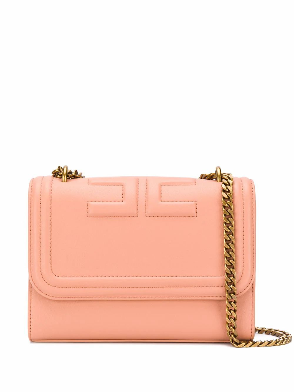 Elisabetta Franchi ELISABETTA FRANCHI WOMEN'S PINK LEATHER SHOULDER BAG