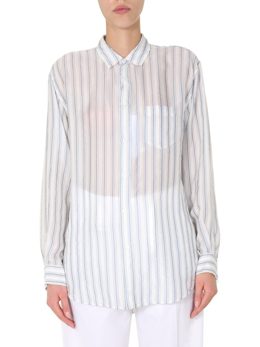 MAISON MARGIELA MAISON MARGIELA WOMEN'S MULTICOLOR VISCOSE SHIRT