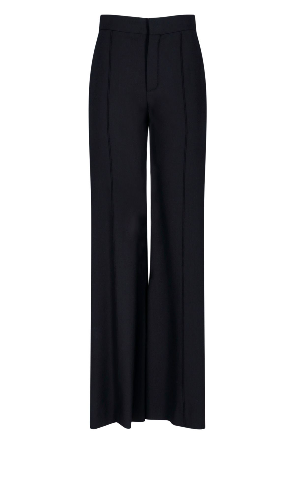 Chloé CHLOÉ WOMEN'S BLACK SYNTHETIC FIBERS PANTS