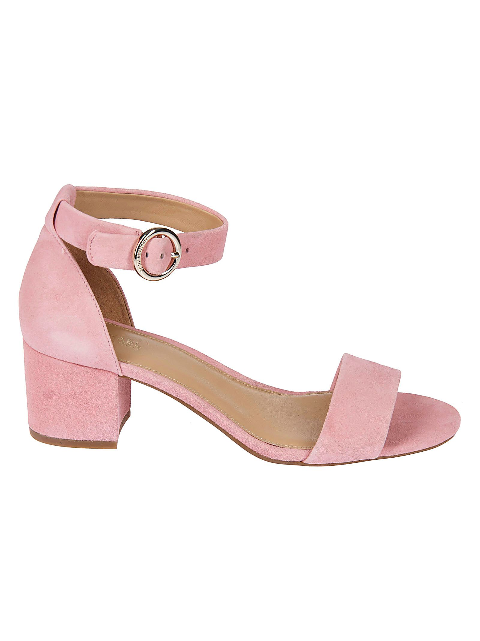 Michael Kors Pink Leather Sandals