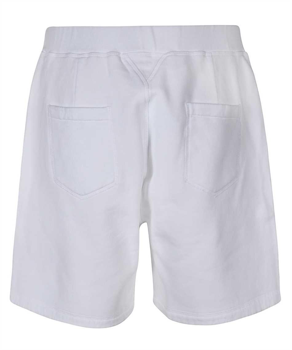 DSQUARED2 Cottons DSQUARED2 MEN'S WHITE COTTON SHORTS