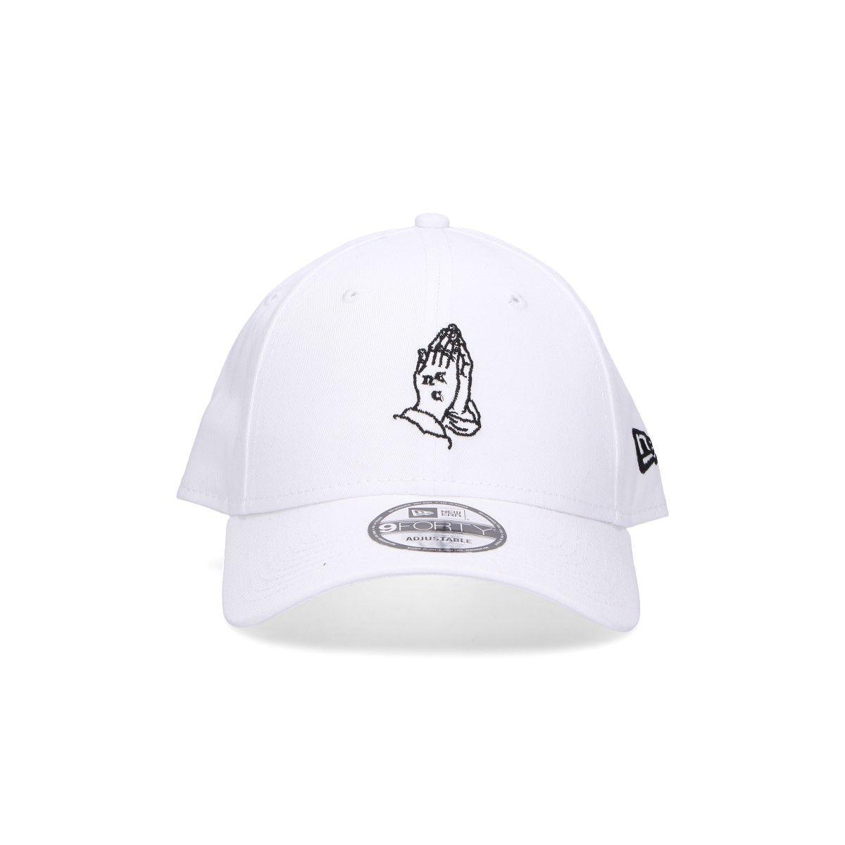 New Era White Cotton Hat