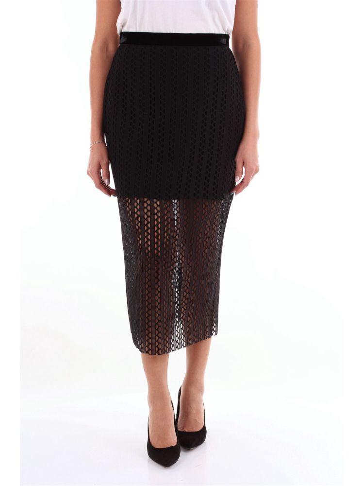 Philosophy Women's Black Polyester Skirt