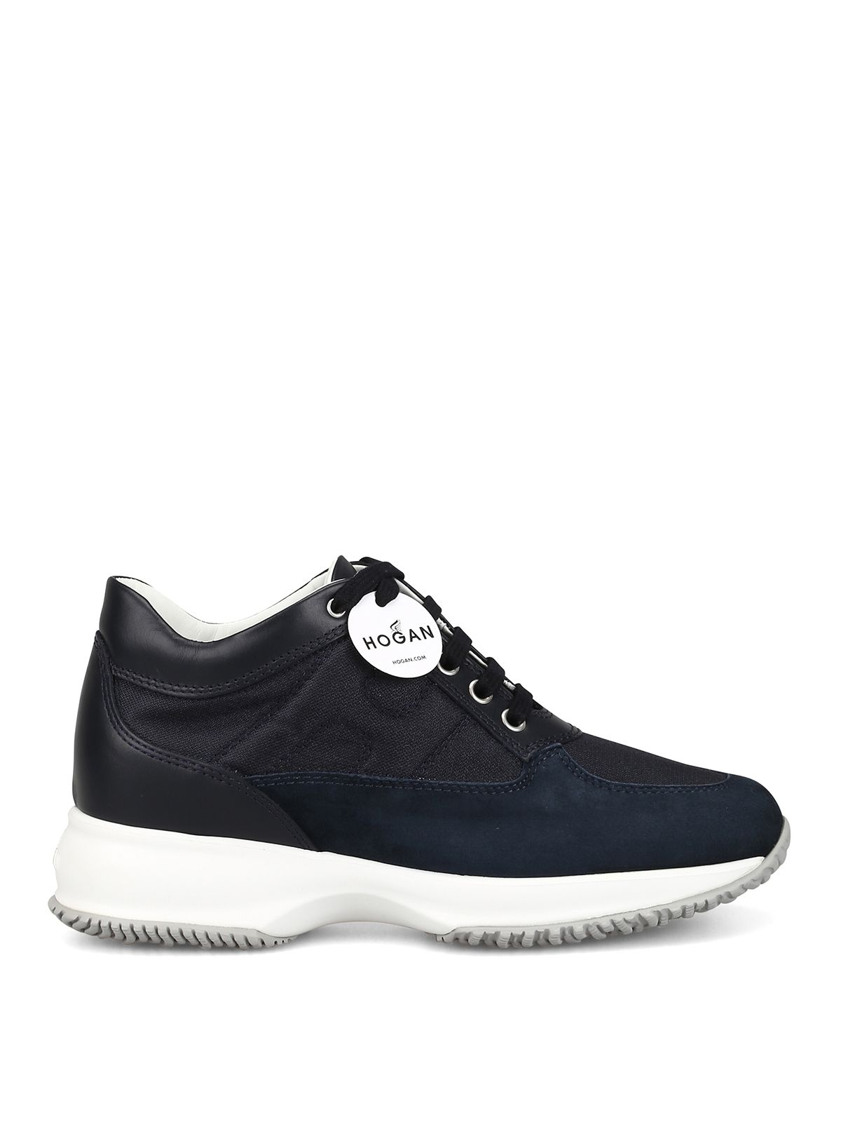 Hogan Interactive Midnight Blue Sneakers