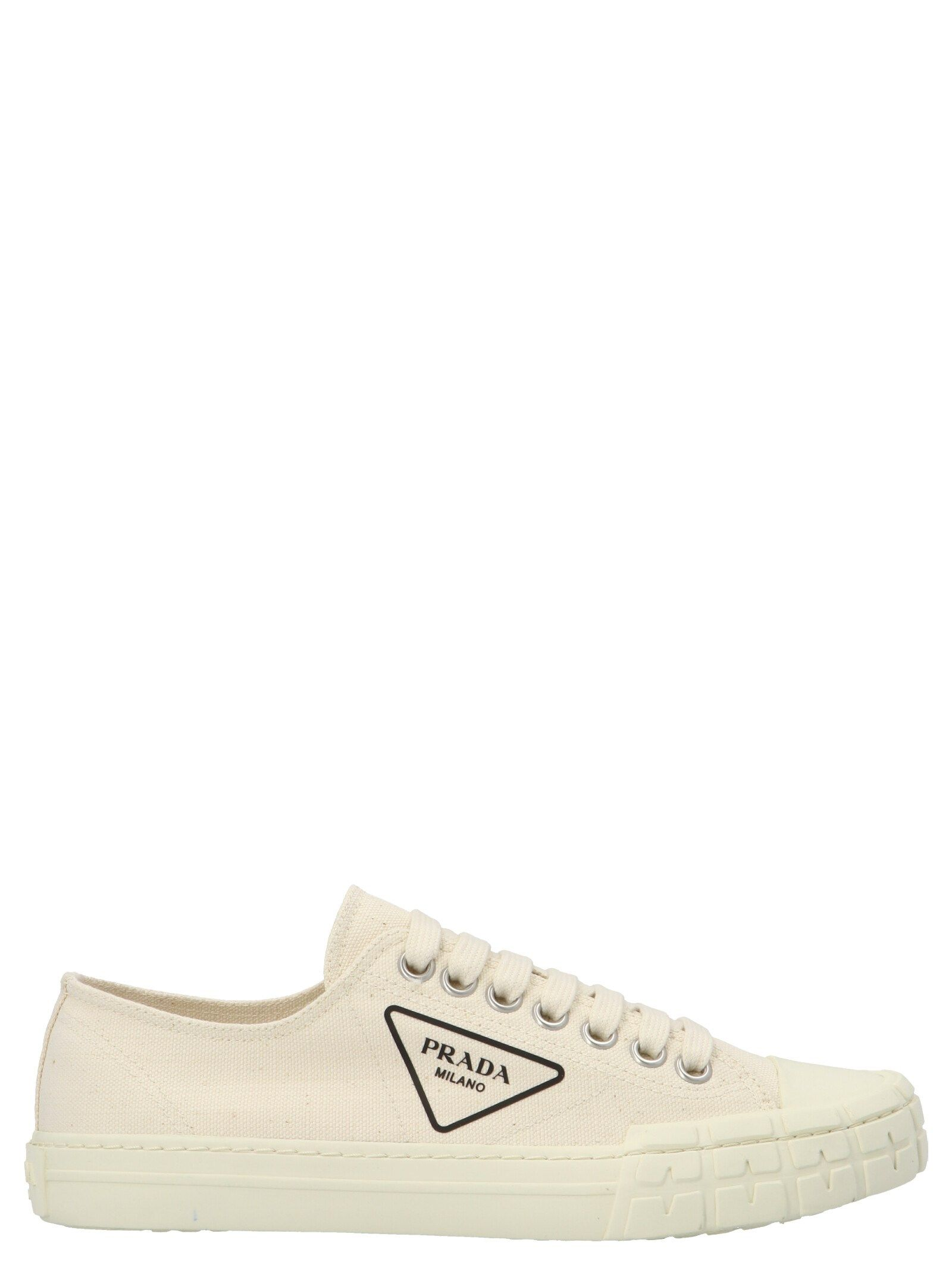 Prada PRADA MEN'S WHITE OTHER MATERIALS SNEAKERS