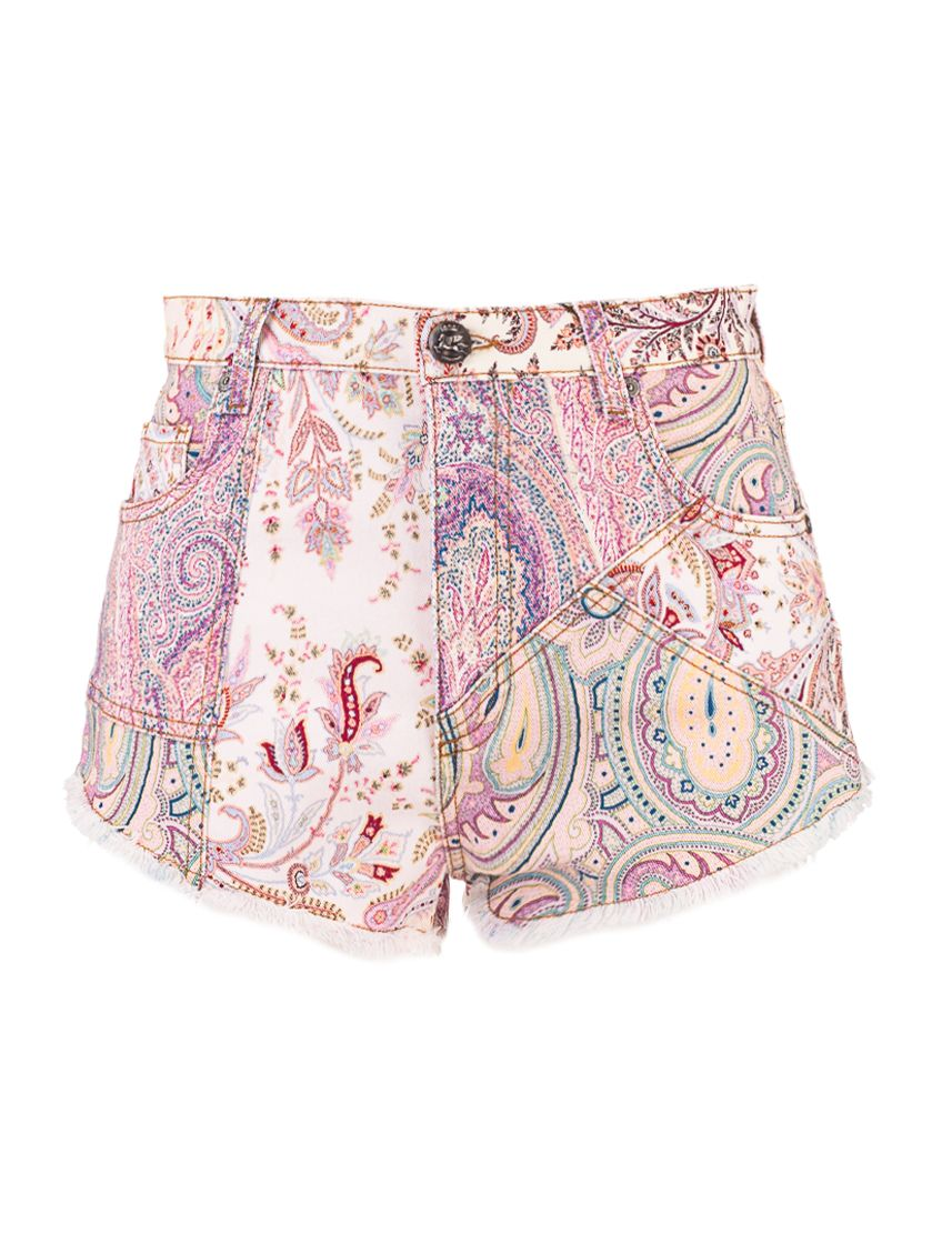Etro Shorts ETRO WOMEN'S PINK OTHER MATERIALS SHORTS