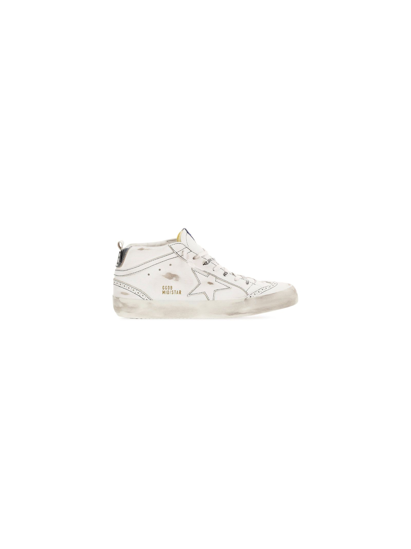 Golden Goose GOLDEN GOOSE MEN'S WHITE OTHER MATERIALS SNEAKERS