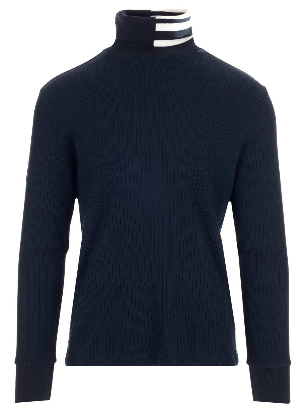 Thom Browne Cottons THOM BROWNE MEN'S BLUE OTHER MATERIALS SWEATER