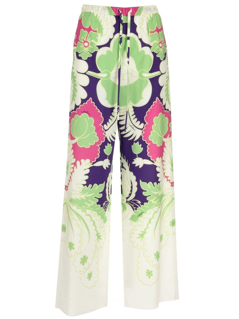 Valentino VALENTINO WOMEN'S MULTICOLOR OTHER MATERIALS PANTS