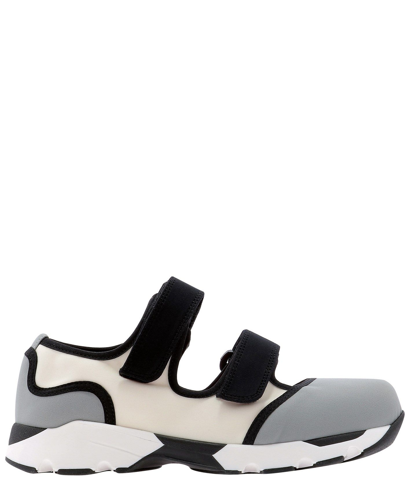 Marni MARNI WOMEN'S GREY OTHER MATERIALS SNEAKERS