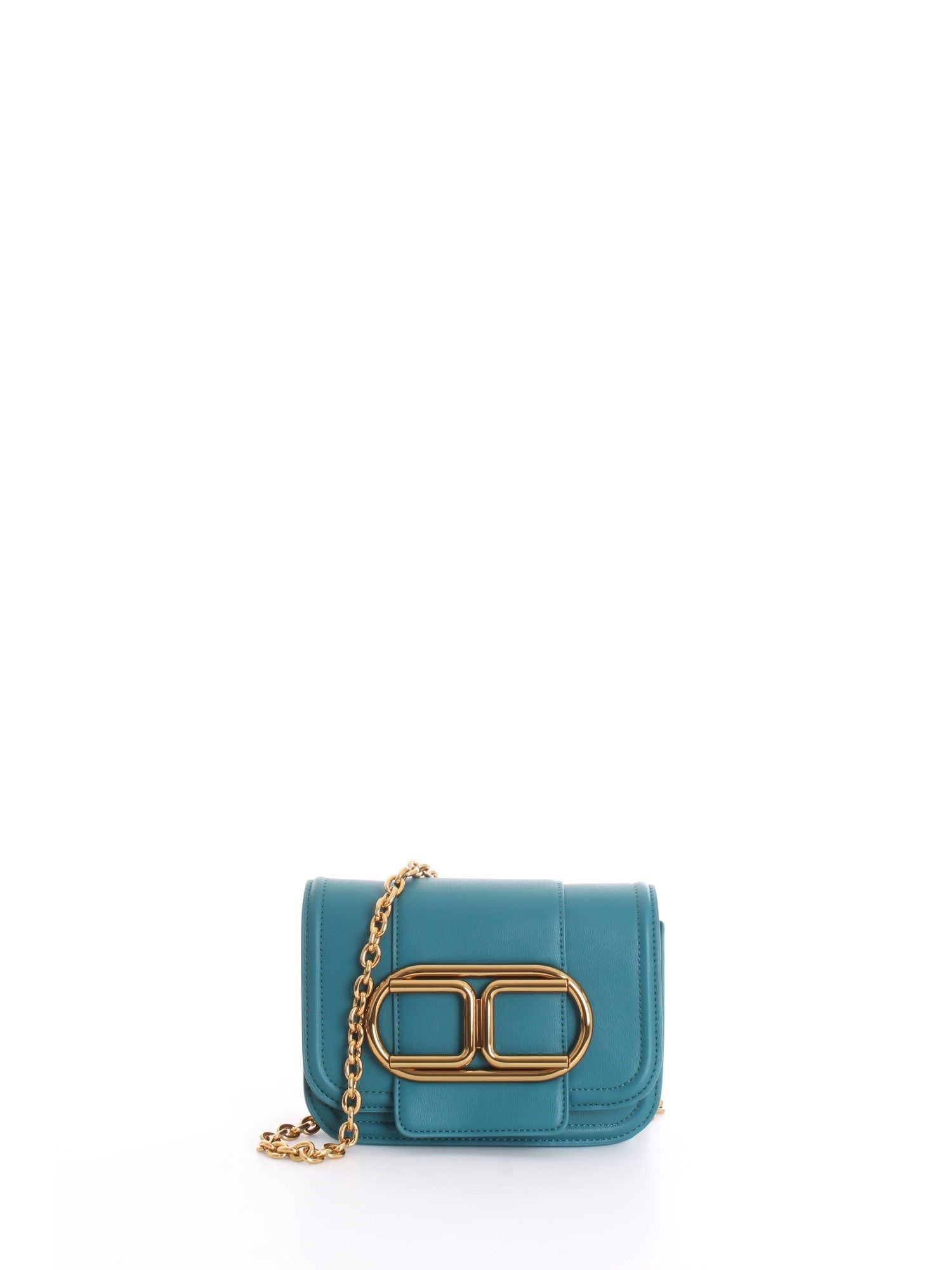 Elisabetta Franchi ELISABETTA FRANCHI WOMEN'S BLUE SHOULDER BAG