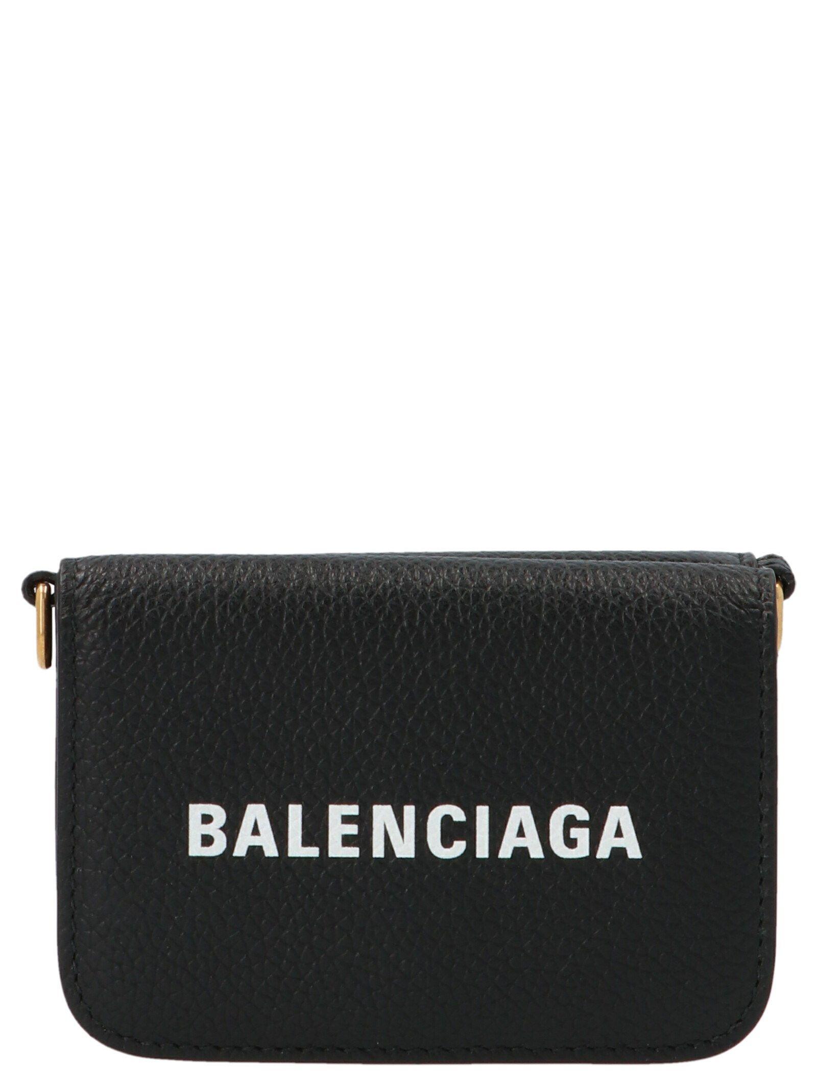 Balenciaga BALENCIAGA WOMEN'S BLACK OTHER MATERIALS SHOULDER BAG