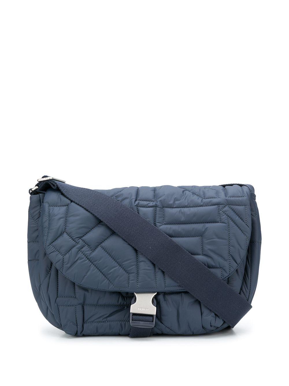 Kenzo Shoulder bags KENZO WOMEN'S BLUE POLYAMIDE SHOULDER BAG