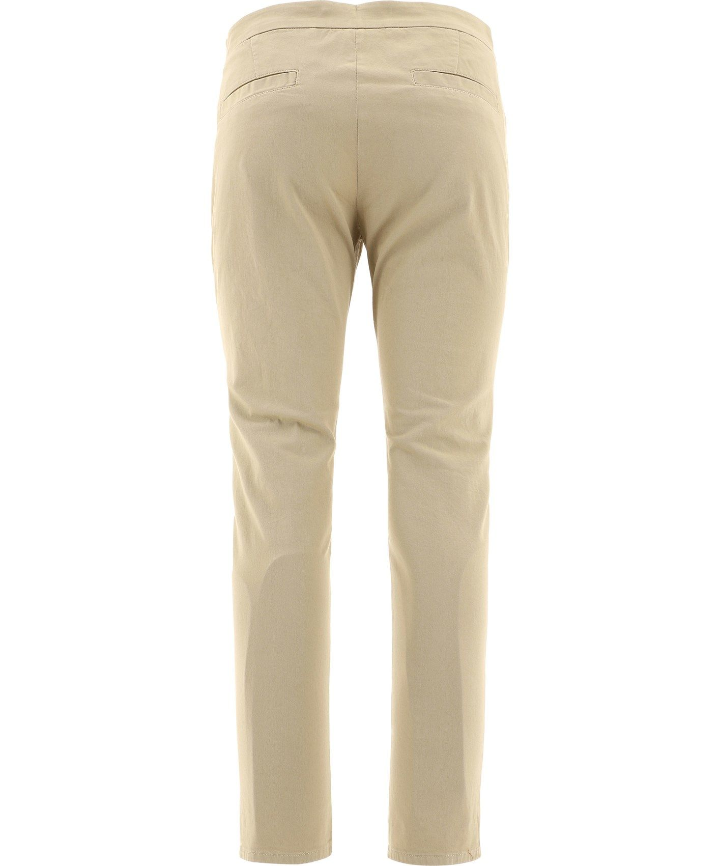 ASPESI Cottons ASPESI WOMEN'S BEIGE COTTON PANTS