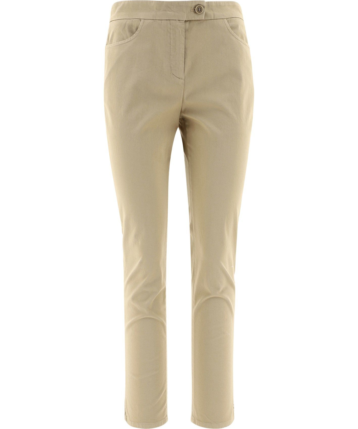 Aspesi ASPESI WOMEN'S BEIGE COTTON PANTS