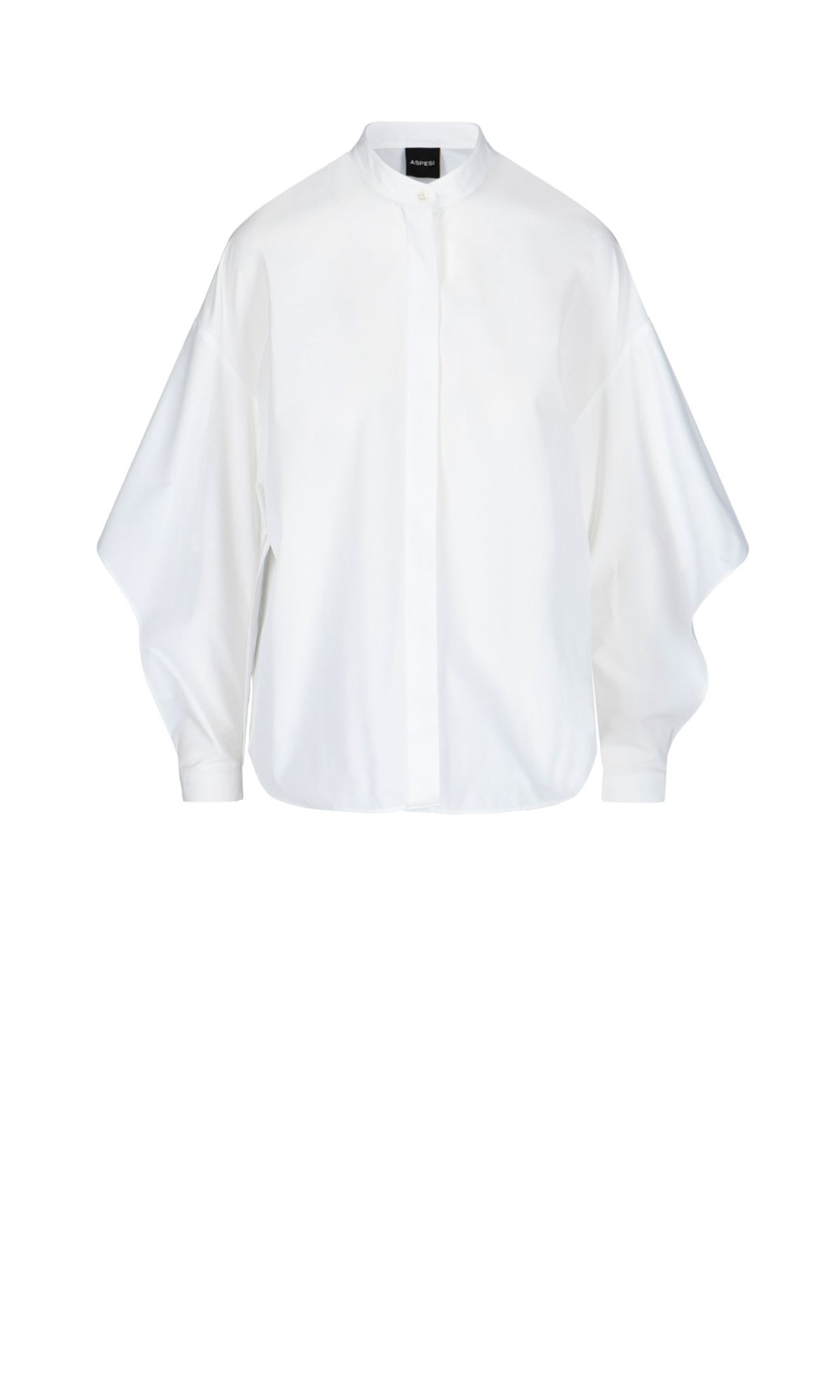 ASPESI ASPESI WOMEN'S WHITE COTTON SHIRT