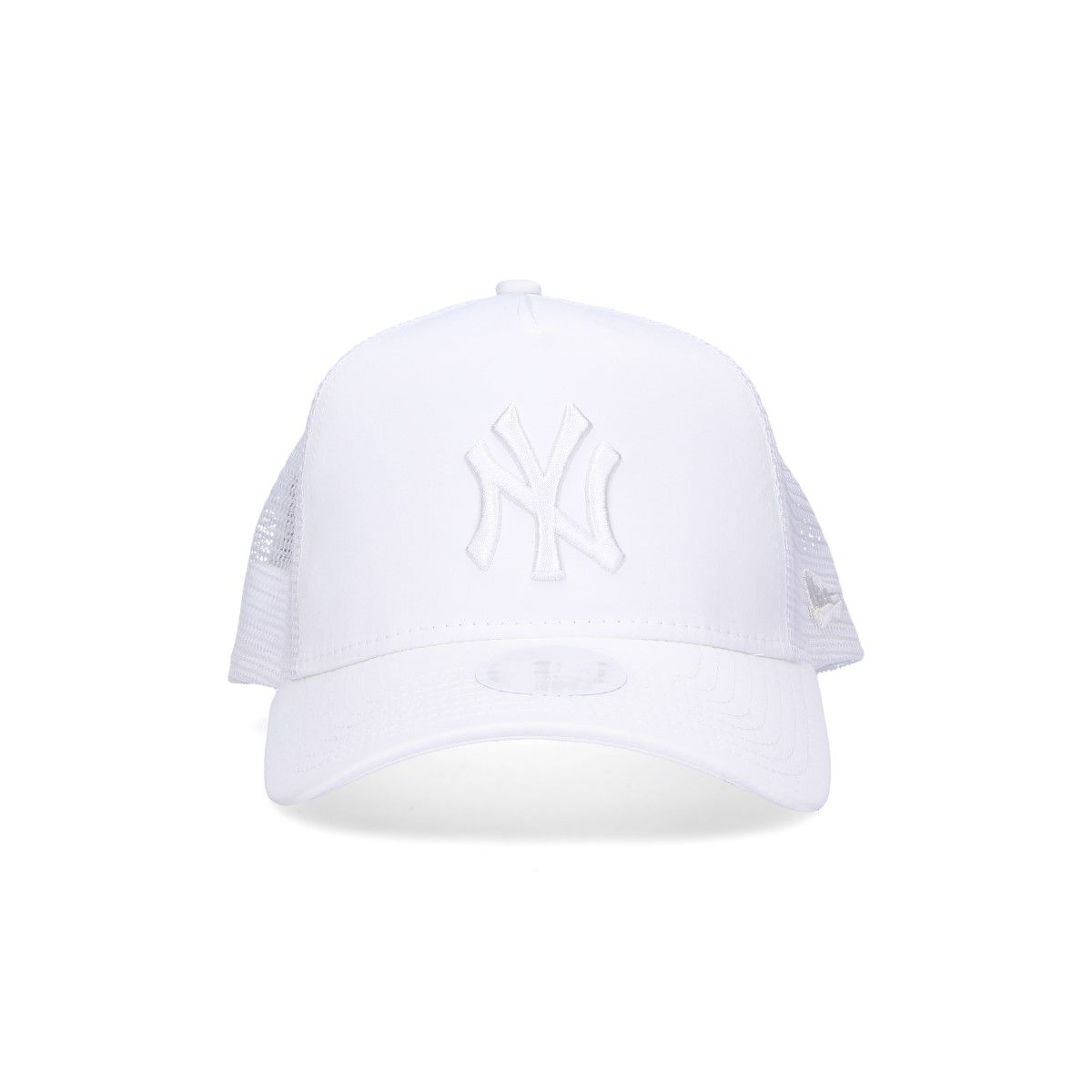 New Era White Fabric Hat