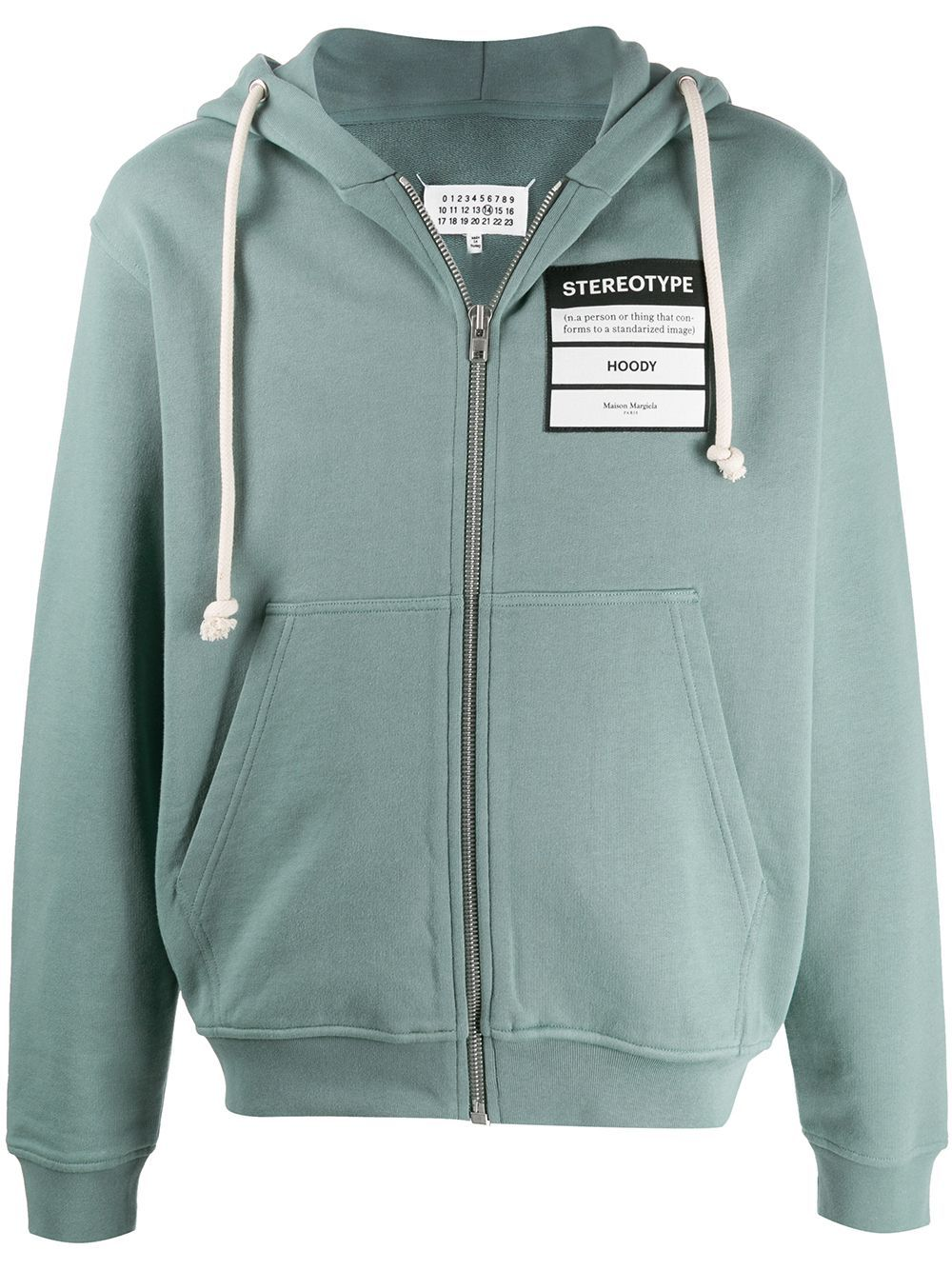 Maison Margiela MAISON MARGIELA MEN'S GREEN COTTON SWEATSHIRT