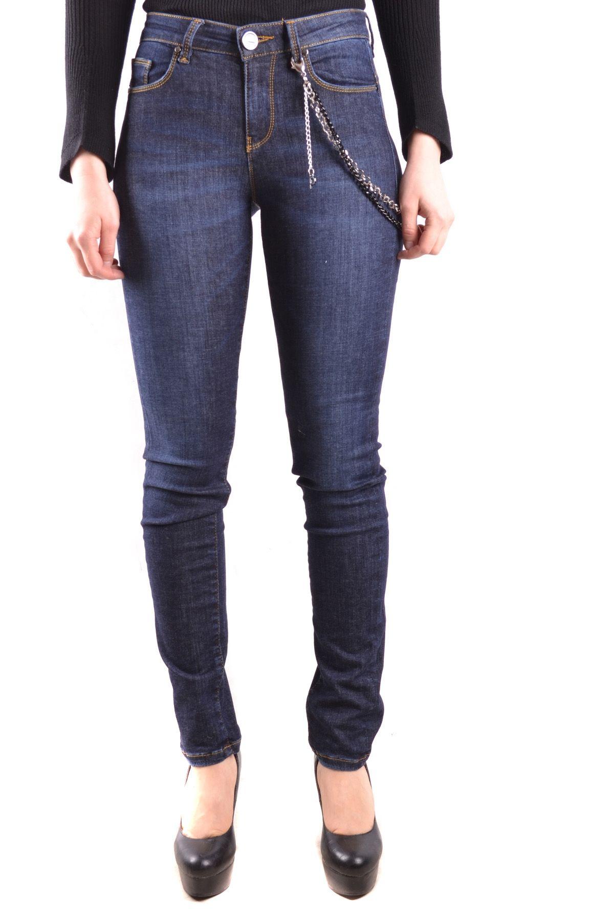 Pinko Blue Cotton Jeans