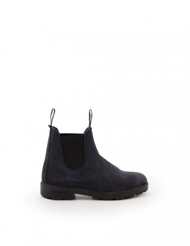 Blundstone Leathers BLUNDSTONE WOMEN'S BLUE LEATHER ANKLE BOOTS