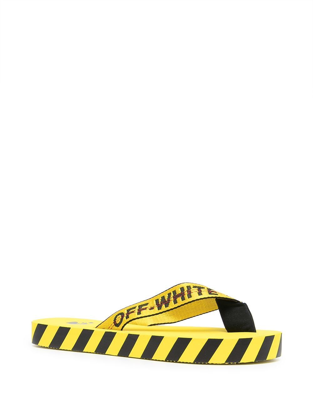 OFF-WHITE Flip flops OFF-WHITE MEN'S YELLOW RUBBER FLIP FLOPS