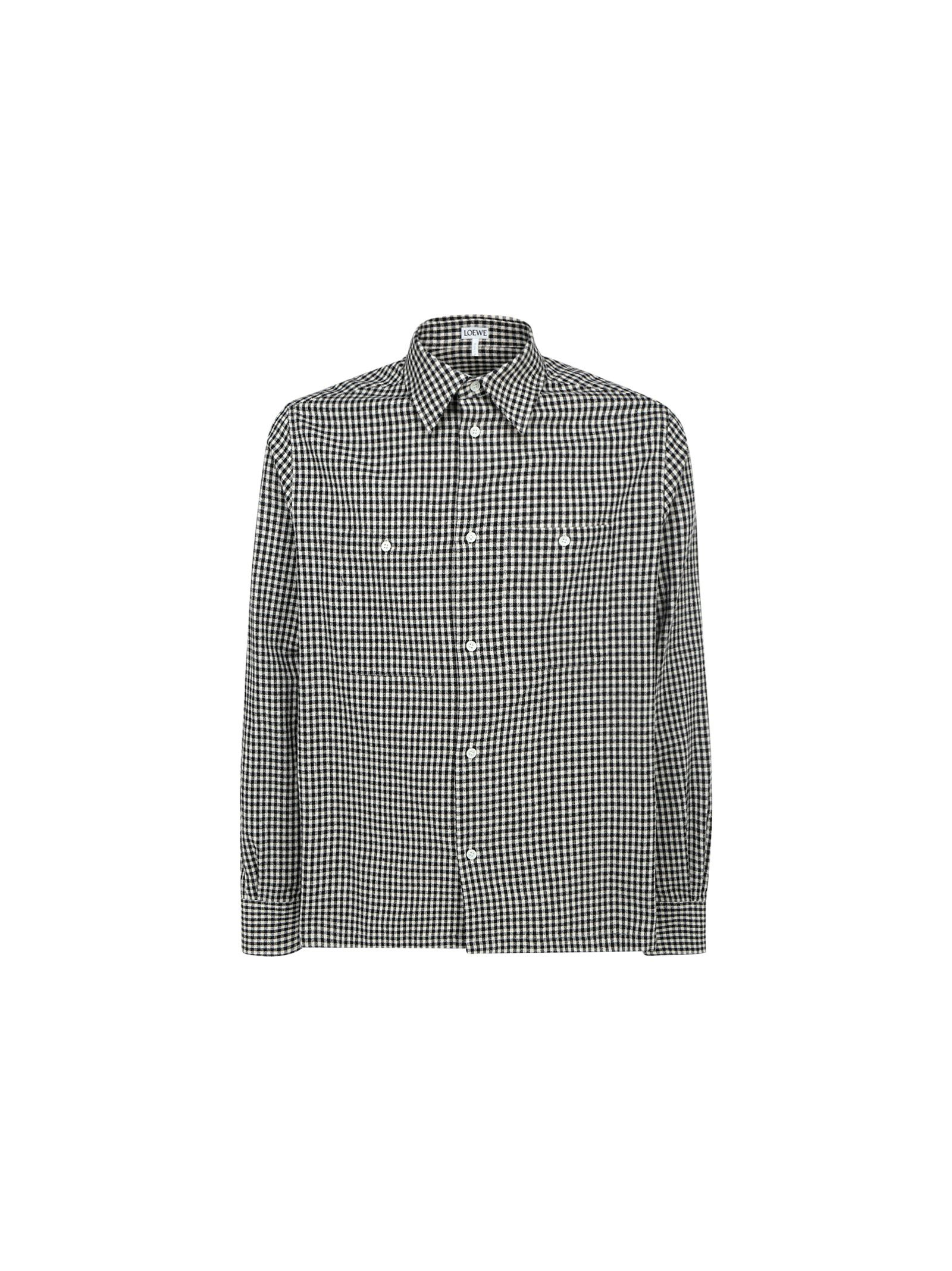 Loewe Cottons LOEWE MEN'S BLACK OTHER MATERIALS SHIRT