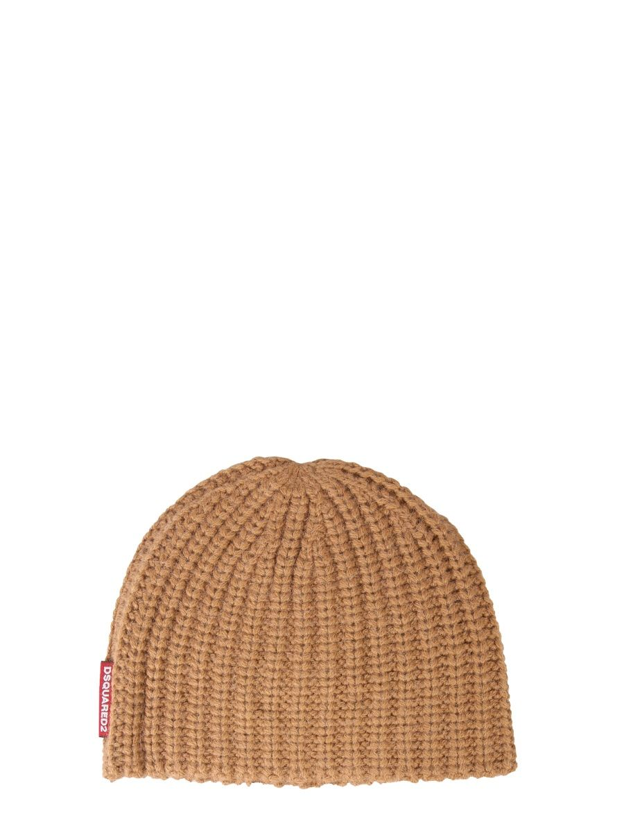 DSQUARED2 DSQUARED2 WOMEN'S BEIGE HAT