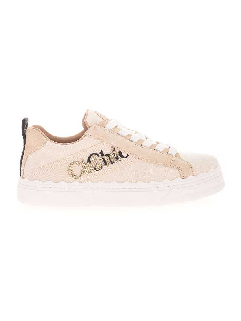 Chloé CHLOÉ WOMEN'S WHITE OTHER MATERIALS SNEAKERS